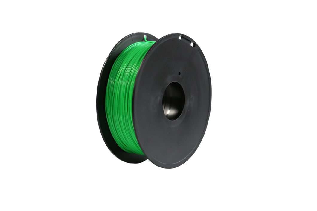 3D Printer Green Color PLA Filament 1.75mm Accuracy +/- 0.05 mm 1kg