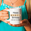 60th Birthday Scrabble Gift. Funny 60th Birthday Mug