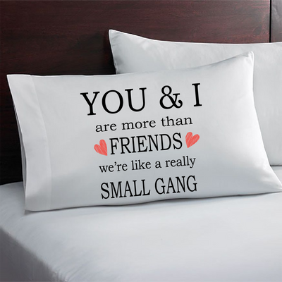Best friend gift idea. Bestie pillowcase. Gift for Bestfriend.