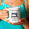 Seamstress sewing gift. Funny sewing meme. Funny seamstress gift.