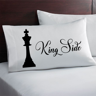 Chess Piece Queen Side Pillowcase