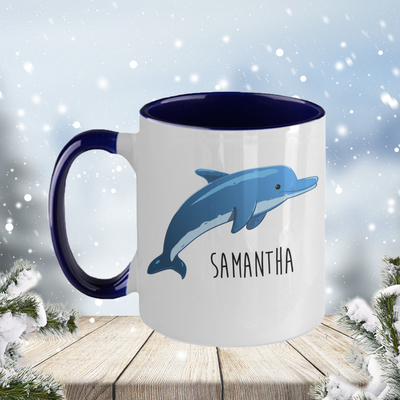 Personalized Dolphin Mug
