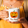 Personalized Pumpkin. Halloween Mug