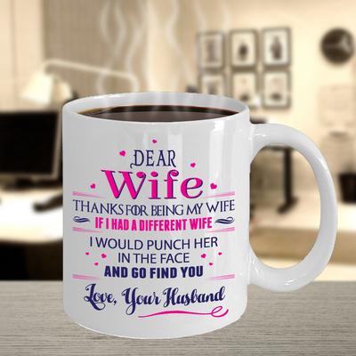 Dear Wife, thanks for being my wife... I will go find you