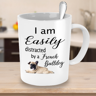 French Bulldog Mug, Birthday Gift for Mum and Dad, French Bulldog Lover Mug, 11oz or 15oz white ceramic mug