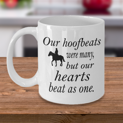 Horse Riding Coffee Mug – Equestrian Dressage Show Jumping Horse Lover Mug