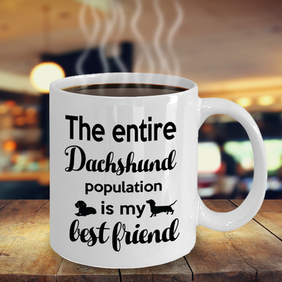 Dachshund Mug, Dachshund Gift Idea, Gift for Mum, Dachshund Lover Mug, 11oz or 15oz white ceramic mug