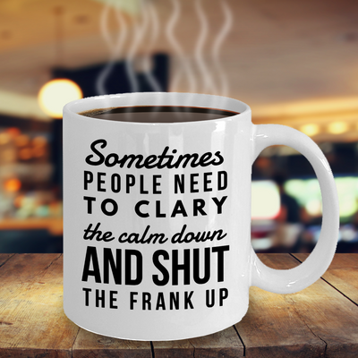 Essential Oil Ceramic Mug, Funny Essential Oil Gift, Gift for Crazy Oily Lady