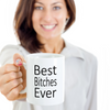 Best girlfriend Ever Funny Mug - Gift for girlfriend or bestfriend - Bridesmaid gift