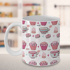 Cute Tea Cupcakes Cookies Mug