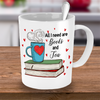 Book and Tea Lover Mug - Tea Mug