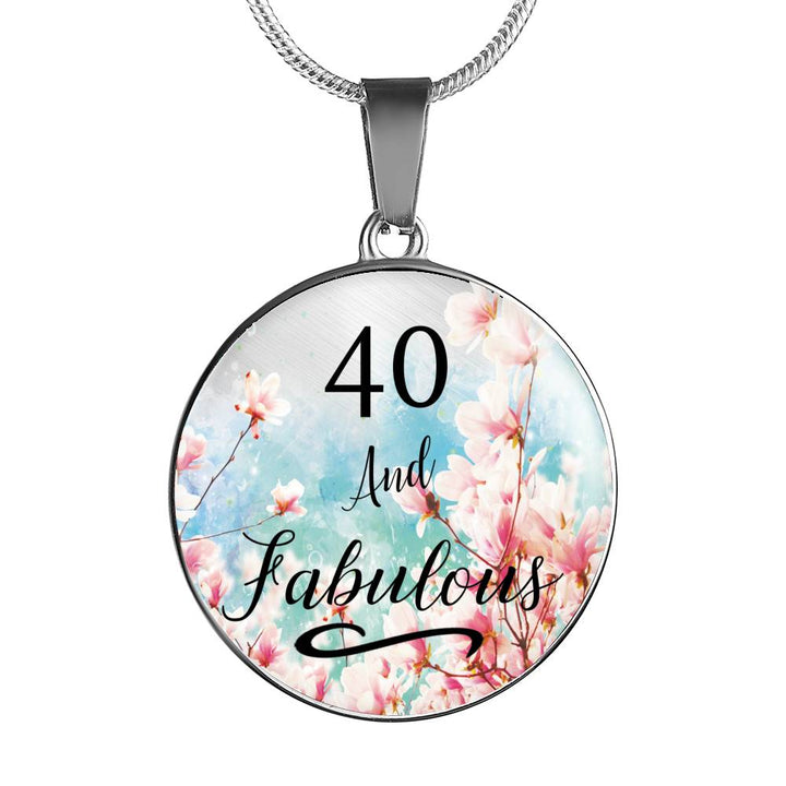 40th Birthday 40 And Fabulous Gift For Women Party