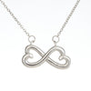 Birthday Gift to Daughter from Dad. Daughter Birthday Infinity Pendant.