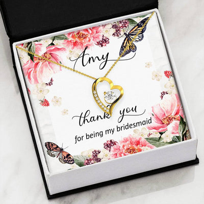 Personalized Bridesmaid Thank you Gift. Bridesmaid Gift.