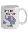 Happy 1st Mother's Day gift. New Mom Mug. Gift for New Mom on Mother's Day.