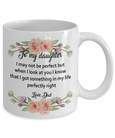 To my daughter from Dad - To Daughter from Father Gift - Dad gift to daughter
