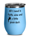 Funny Wine Tumbler Gift. Wine Lover Gift Idea. Birthday gift for wine lover.