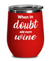 Wine Gifts. Funny wine gift. Stemless wine tumbler. Custom tumbler.
