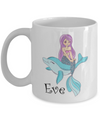 Personalised Mermaid Gift. Mermaid Mug.