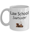 Law School Graduation Coffee Mug, Law Grad Mug, Lawyer Gift, Gift for Lawyers, 11oz or 15oz white ceramic mug