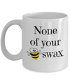 Funny Bee Mug Novelty Bee Mug for Birthday Gift