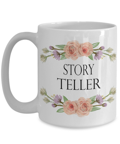 Photographer Coffee Mug Story Teller Writer Wedding Photographer 11oz or 15oz Mug
