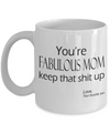 Funny Coffee Mug for Mom - Mothers Day gift - Best mug for mom - Gift from Son