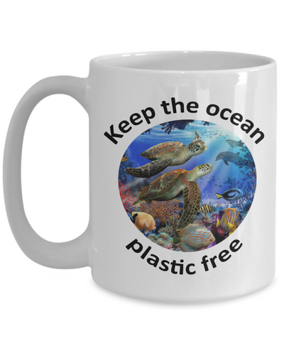 Sea Turtle Gift. Keep the ocean plastic free.