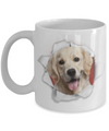 3D Golden retriever gift. Golden retriever parent gift.