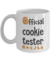 Official cookie tester. Christmas stocking gift. Gift for daughter, son, sister, or brother.