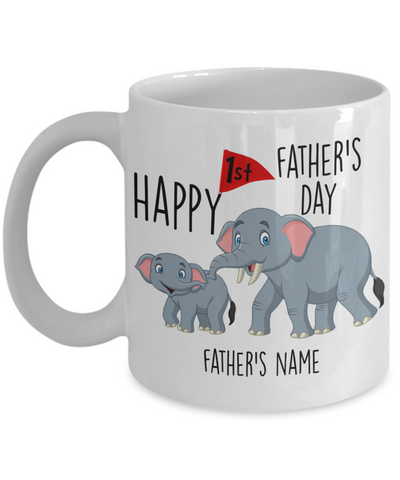 Personalized Happy 1st Father's Day Gift