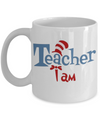 Teacher I am. Dr Suess Mug