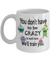 Funny Office Coffee Mug. Gift for co-worker.