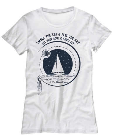 Ocean spirit t-shirt. Birthday Gift.