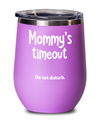 Wine Tumbler gift for Mom.