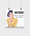 Gift for mom. Poster gift for mom. Mother's Day gift