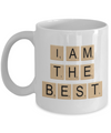 Scrabble Gift. Best Scrabble Player Mug.