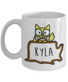 Personalised Owl Mug. Owl Gift. Cute Owl Coffee Cup