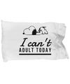 Snoopy pillowcase. Snoopy gift. Lazy Snoopy. Snoopy Birthday gif
