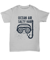 Aquaholic Gift. Ocean Air Salty Hair Beach Gift. Birthday Gift.