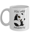 Panda Gift. You are pandastic. Panda mug.