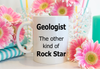Geologist mug. Geologist is the other kind of rock star. Gelologist graduation gift