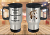 The path to my heart is paved with hoofprints Travel Mug