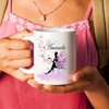 Personalised Butterfly Mug. Butterfly Gift. Butterfly birthday gift.