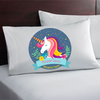 Personalized Unicorn Gift. Custom Unicorn Pillowcase.