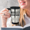 World's Awesomest Scout Mom Travel Mug