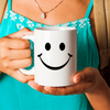 Smiley face mug. Birthday gift.