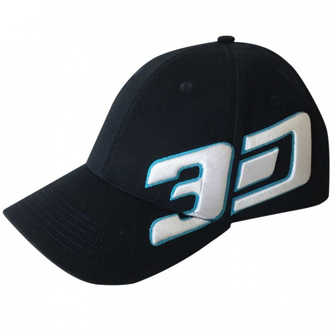 3D NUTRITION CAP [BLACK]