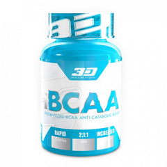 3D NUTRITION IBCAA [120 CAPS]