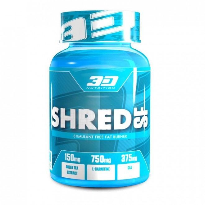 3D NUTRITION SHRED SF [90 CAPS]